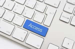 Word access is written on a keyboard key