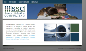 Source Selection Consulting homepage